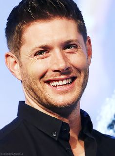 Jensen Ackles #JIBCon2014 but not as good as my american girl