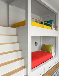 Sleek bunk bed design   Tatum Brown Custom Homes