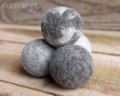 Wolle Trockner Kugeln Vlies natürliche Jacob Schaf von Goodwooletc