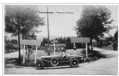 Old Postcard of Spa Francorchamps. Virage de la Source.