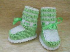 tricoter bébé patig yapılışı