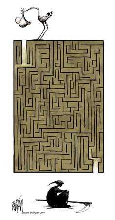 Funny pictures about The Great Maze Of Life. Oh, and cool pics about The Great Maze Of Life. Also, The Great Maze Of Life photos. Satire, Satirical Illustrations, Labrynth, Funny P, Funny Life, Funny Memes, Arte Obscura, Looking For Alaska, Finding Alaska