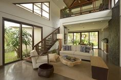 Tago: A Take on the Modern Bahay-Kubo Real Living Philippines Modern House Design, Modern Interior Design, Simple Interior, Modern Houses, Luxury Interior, Modern Filipino Interior, Filipino House, House In Nature, Autocad