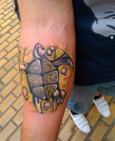 #tattoo #tattooformyfriend #turtle #abstract