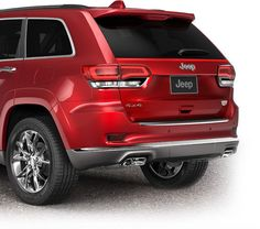 Redesigned 2014 Jeep Grand Cherokee with LED taillights. 2014 Jeep Grand Cherokee, Jeep Suv, Dodge, Larger, Models, Led, Cars, Lighting, Sweet