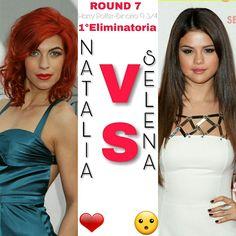 ROUND 7 ⚡ 1°Eliminatoria ⚡  #Natalia o #Selena? ⚡  A voi la scelta ⚡  ⚡Hermione⚡