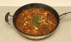 Jack Monroe's fish tagine. Photograph: Graham Turner for the Guardian.  A tangine is a North African Fish Dish.