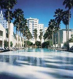 Delano Hotel, South Beach, Miami, Fl