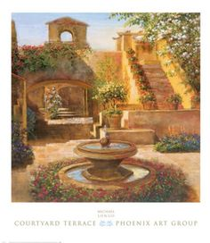 Courtyard+Terrace+at+FramedArt.com