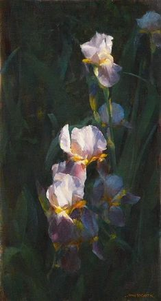 Love's Flame, 75cmx42cm, John McCartin, oil