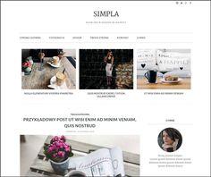 Simpla: szablon na bloga blogger, blogspot