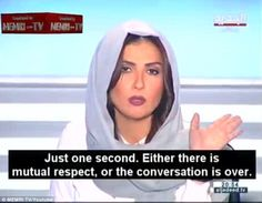 Lebanese TV host Rima Karaki is being praised on social media for her cool reaction to sexist comments made bySheik Al-Seba'i on a live interview
