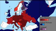 Van de invasie in Polen tot de overgave van Duitsland een van-dag-tot-dag overzicht van de Tweede Wereldoorlog