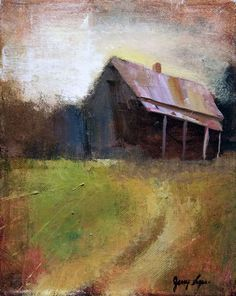 My brother and I create images from stories our parents and relatives told us and of memories from our upbringing in the deep south.  This painting is of Pappa Nate's (my great grandfather) house in Hernando Mississippi.
