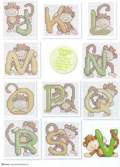 monograma macacos 2