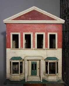 Original English Victorian Antique Doll's House