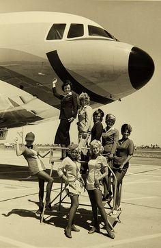 PSA flight attendants