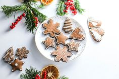 Christmas gingerbread cookies using our coconut nectar and cacao powder by My FAT Me Ania!!!