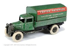 "Dinky No.25B Pre-War Covered Wagon ""Carter Paterson"""