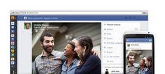 Lavado de cara en Facebook / @petezin @elpais_tec | La red social pretende mejorar la visualización de fotos y la selección de contenido relevante | #socialmedia #gossiplibrarianbupm