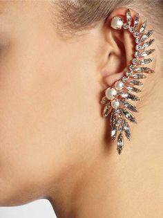 Ear cuff febre e tendencia brinco da moda