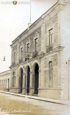 Fotos de Toluca, México, México: Edificio Maternidad hacia 1930-1950
