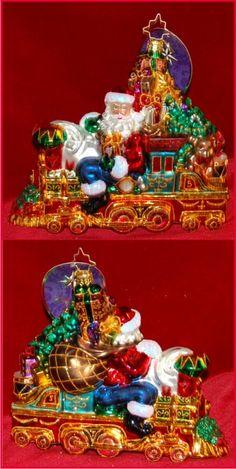 All Aboard for Christmas Radko Ornament