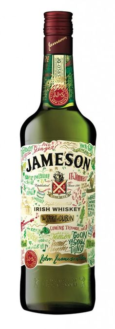 AA Jameson St. Patrick's Live Limited Edition Bottle 2014
