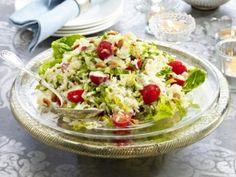 Schnelle salate mit reis