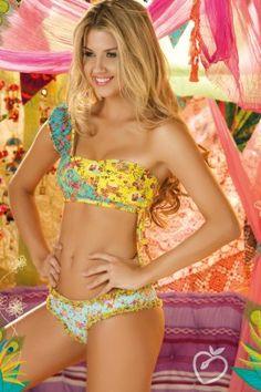 Paradizia Swimwear 'Peace & Love' Bandeau Bikini by Paradizia 2013 | The Orchid Boutique
