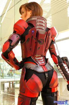 Mass Effect She-pherd Armor