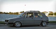 VW Golf MK1 - Ronal Turbo Wheels