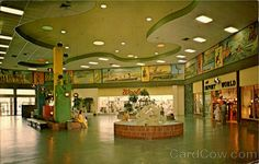 St. Petersburg, FL. Seminole Mall considered to be one of the most attractive shopping malls on the west coast with colorful murals of the life of the Seminole Indians surrounding the walls above the shops. The mall is located on 78th Avenue North, just west of St. Petersburg.%0A
