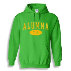 Sigma Alpha Alumna Sweatshirt Hoodie from GreekGear.com