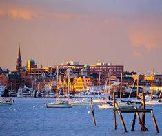 Portland, Maine was named one of the best places to travel in the fall by Travel and Leisure!