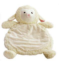 Stuffed plush lamb floor mat a must for baby