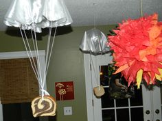 hunger games party decor
