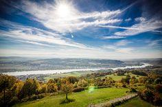 Der Weitwanderweg #Nibelungengau; Wälder und weite Blicke auf die Donau: www.hikeandbike.de