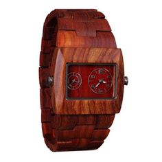 Adirondack Watch Mahogany, $175, now featured on Fab.