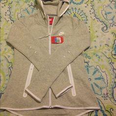 NEW Nike tech hoodie NEW Nike tech hoodie ,, nothing wrong..no trades.. Better price on Ⓜ️ Nike Tops Sweatshirts & Hoodies