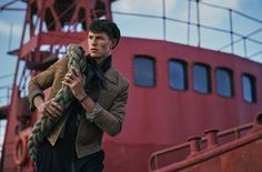 Continuing our #InstagramTakeover this week @charliegrayphotographer shares a recent fashion shoot with a nautical theme  Shot on a Leica S 007 this image is from my @harrodsman fashion story Ship to Shore starring @tommycraig13 of @wilhelminamodels.  Creative direction @barneypickard Styling @beckybranch Produced by @wendyhinton14 Grooming @khairstudio Post production by @hempstead_may Thank you to @kellylarabluff_  Top by @sandroparis Trousers by @zegnaofficial Hat by @alexandermcqueen…