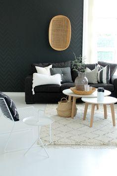 Black and White (Decoração preto e branco)