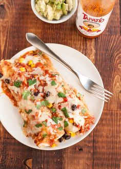 Slow Cooker Black Bean Enchiladas | Easy Recipe  | Kitchn