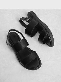 Two Part Flat Sandals , sandals summer, sandals sandals 2019 trends, sandals heels, sandals outfit Flat Sandals, Slide Sandals, Women's Shoes Sandals, Sandals Sale, Trendy Sandals, Chunky Sandals, Shoes Uk, Heeled Sandals, Wedge Shoes
