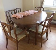 Andrew Malcolm Furniture Co Dining Table And Chairs Found On MaxSold Kingston Moving Auction