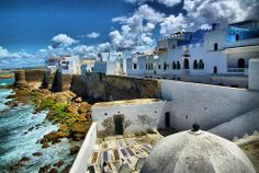 MOROCCO - Asilah, Morocco - For the quieter coastal experience.