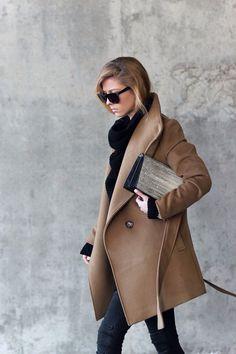 Camel coat | HarperandHarley