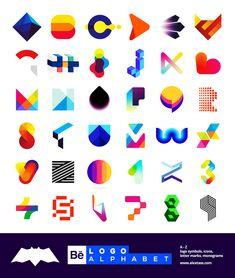 I invite you to see my LOGO Alphabet, a selection of letter marks and monograms, logo marks, symbols and icons. Monogram Design, Monogram Letters, Portfolio Website Design, Finance Logo, Best Logo Design, Graphic Design, Business Illustration, Logo Maker, Creative Logo
