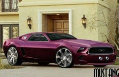 Really like the color & rims... #sexy #mustang
