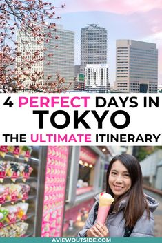 The Tokyo Itinerary That You Need To Add To Your Bucket List - The most detailed 4 day Tokyo itinerary / 5 day Tokyo itinerary that will guide you during your trip to Japan. Tokyo Travel Guide, Tokyo Japan Travel, Travel Tips, Tokyo Trip, Tokyo Vacation, Japan Trip, Travel Goals, Travel Guides, Visit Tokyo